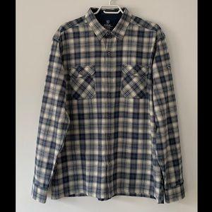 Kuhl button-up plaid shirt